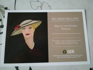 RICARDO BILLONE - MUJERES ENCONTRADAS - PINTURAS @ GER - ROSARIO