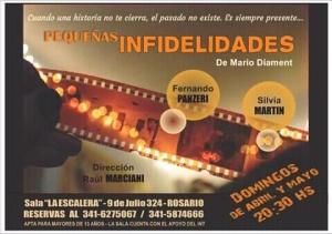 PEQUEÑAS INFIDELIDADES @ SALA LA ESCALERA