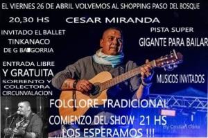 CESAR MIRANDA @ SHOPPING PASEO DEL BOSQUE