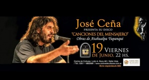 JOSÉ CEÑA EN BELLA VISTA @ COCINA DE CULTURAS