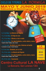 CICLO DE TÍTERES EN LA HORMIGA @ CENTRO CULTURAL LA NAVE