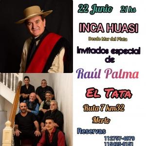 RAÚL PALMA EN PEÑA EL TATA - MERLO - BS AS @ PEÑA EL TATA - MERLO - BS AS