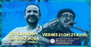 """JOSÉ SIMÓN Y CLAUDIO SOSA """"TINKU"""" @ EL ASERRADERO - ROSARIO"""