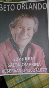 BETO ORLANDO!! en IBARLUCEA @ SALÓN ÓMARINA