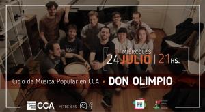 DON OLIMPIO EN C.C. ATLAS @ COMPLEJO CULTURAL ATLAS - ROSARIO