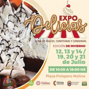 EXPO DELICIAS @ PLAZA PRÓSPERO MOLINA - COSQUÍN