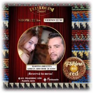 MARTINA DRUETTA y ADRIÁN ABRAMOR en PELLEGRINI CONCERT @ Pellegrini Concert