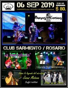 PEÑA EN EL CLUB SARMIENTO - ROSARIO @ CLUB SARMIENTO - ROSARIO