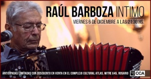 RAÚL BARBOZA EN C.C. ATLAS @ C.C.ATLAS - ROSARIO