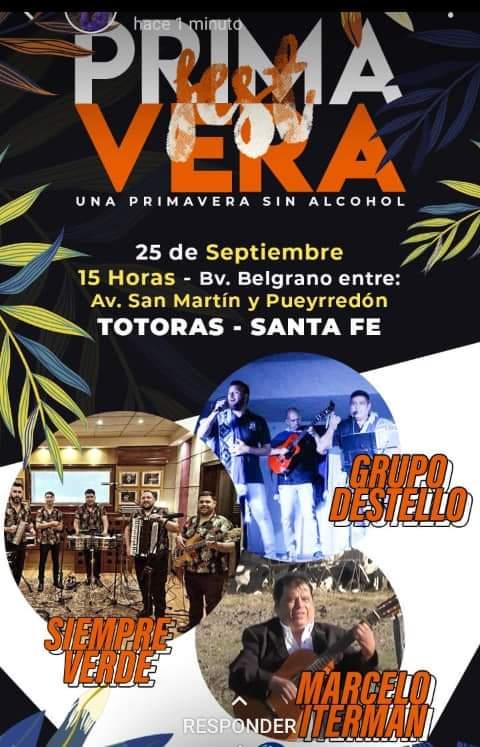 PRIMAVERA FEST en TOTORAS @ Primavera Fest
