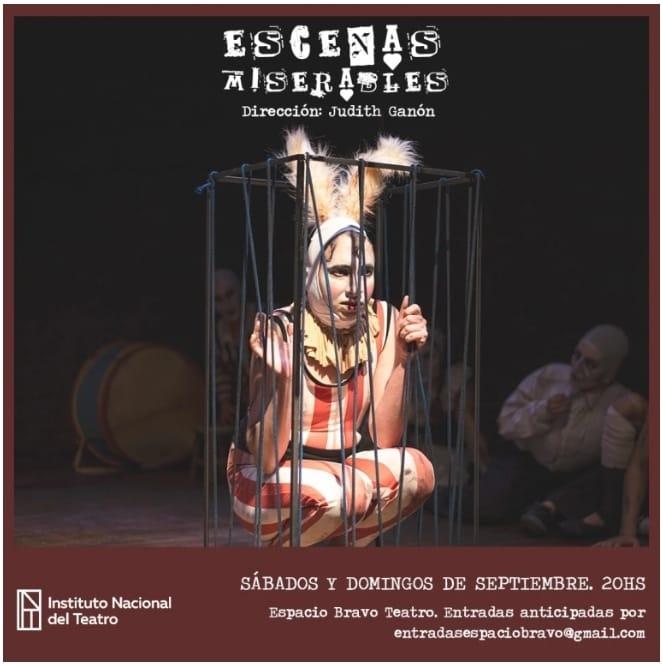 ESCENAS  MISERABLES en ESPACIO BRAVO @ Espacio Bravo Teatro