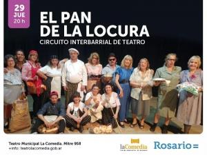 EL PAN DE LA LOCURA @ LA COMEDIA - ROSARIO