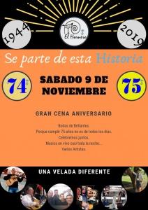 75 AÑOS DE EL HORNERO @ CENTRO DE LA TRADICIÓN EL HORNERO